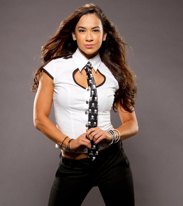 WWE Divas AJ Lee