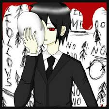 The Slender Man wallpaper probably containing anime titled And the Slender Man is...Sebastian Michaelis?