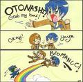 Angel Beats Bromance! - anime fan art