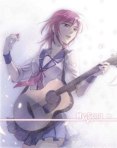 Angel Beats! GirlDeMo- Iwasawa