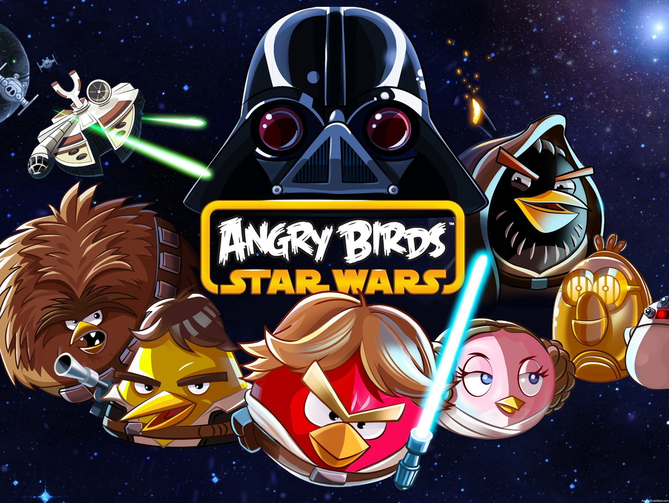 angry birds star wars images angry birds star wars wallpaper hd wallpaper and background photos