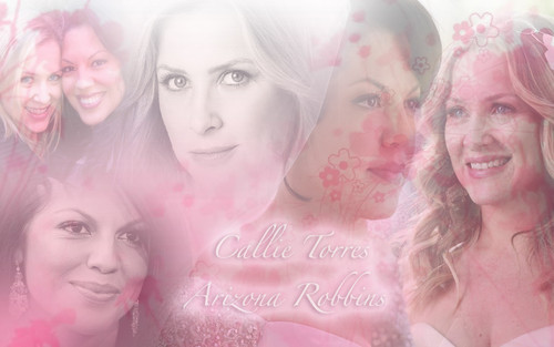 Arizona & Callie wallpaper