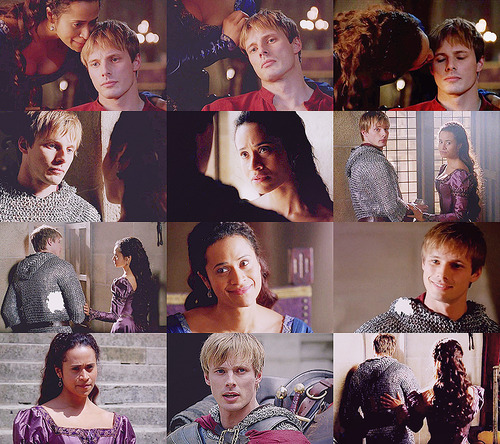 Arthur and Guinevere and POV