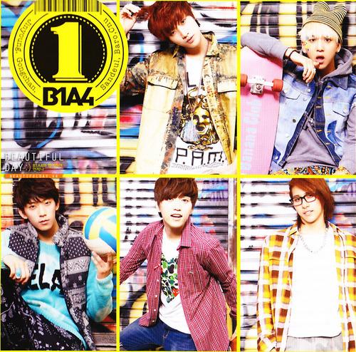 "B1A4 ""1"" album scans"
