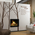 Beautiful Things Winter Tree Wall Sticker - home-decorating photo