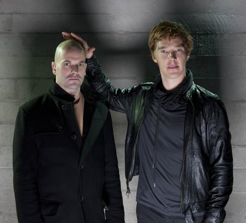 Benedict Cumberbatch wallpaper entitled Benedict Cumberbatch and Jonny Lee Miller 'Frankenstein' Photoshoot
