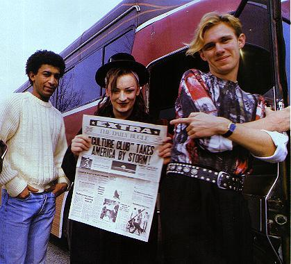 Boy with Culture Club <3