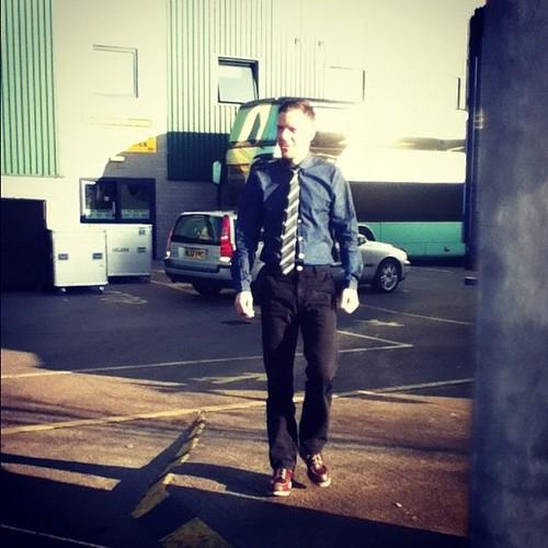 Brandon in Church clothes