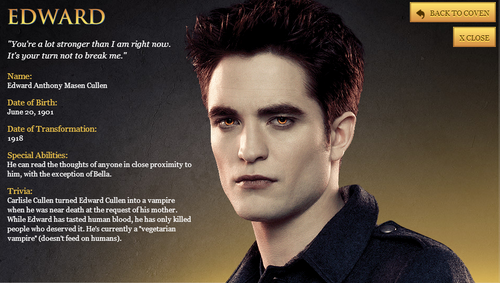 Twilight Series wallpaper entitled Breaking Dawn part 2 characters