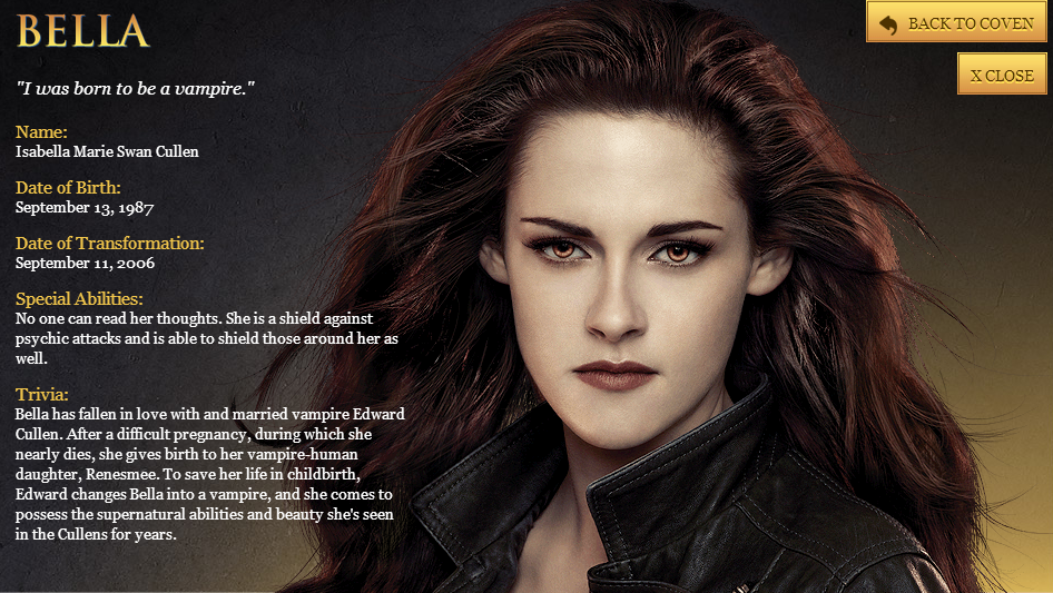 Twilight Breaking Dawn Part 2 Characters