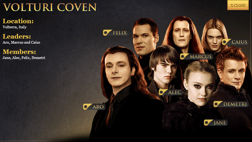 Twilight Series wallpaper possibly with a portrait called Breaking Dawn part 2 characters