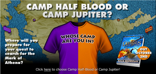 Helden des Olymp Hintergrund containing a jersey and Anime called Camp Half-blood oder Camp Jupiter??
