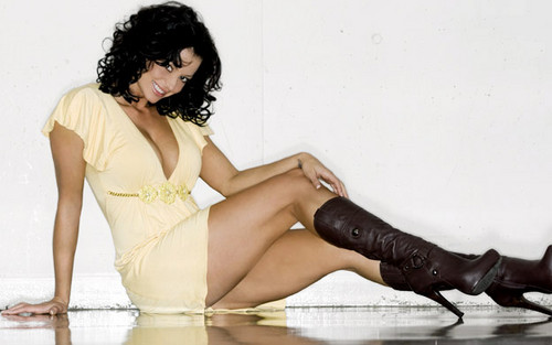Candice Michelle achtergrond entitled Candice Michelle Photoshoot Flashback