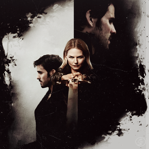 Captain Hook & Emma angsa, swan