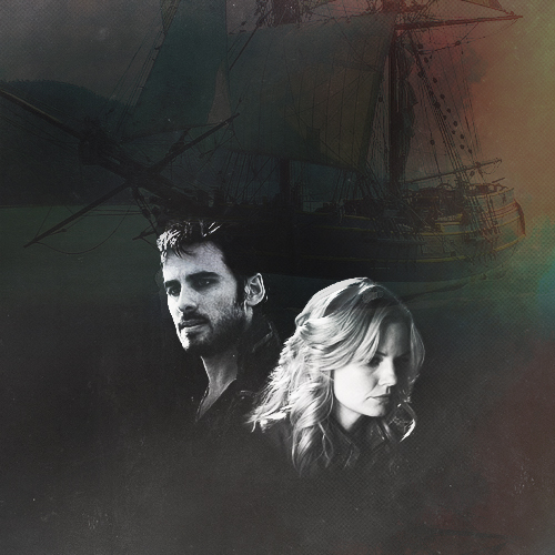 Captain Hook & Emma cisne
