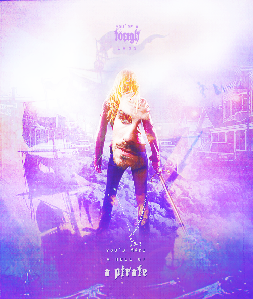 Captain Hook & ... Once Upon A Time Wallpaper Captain Swan
