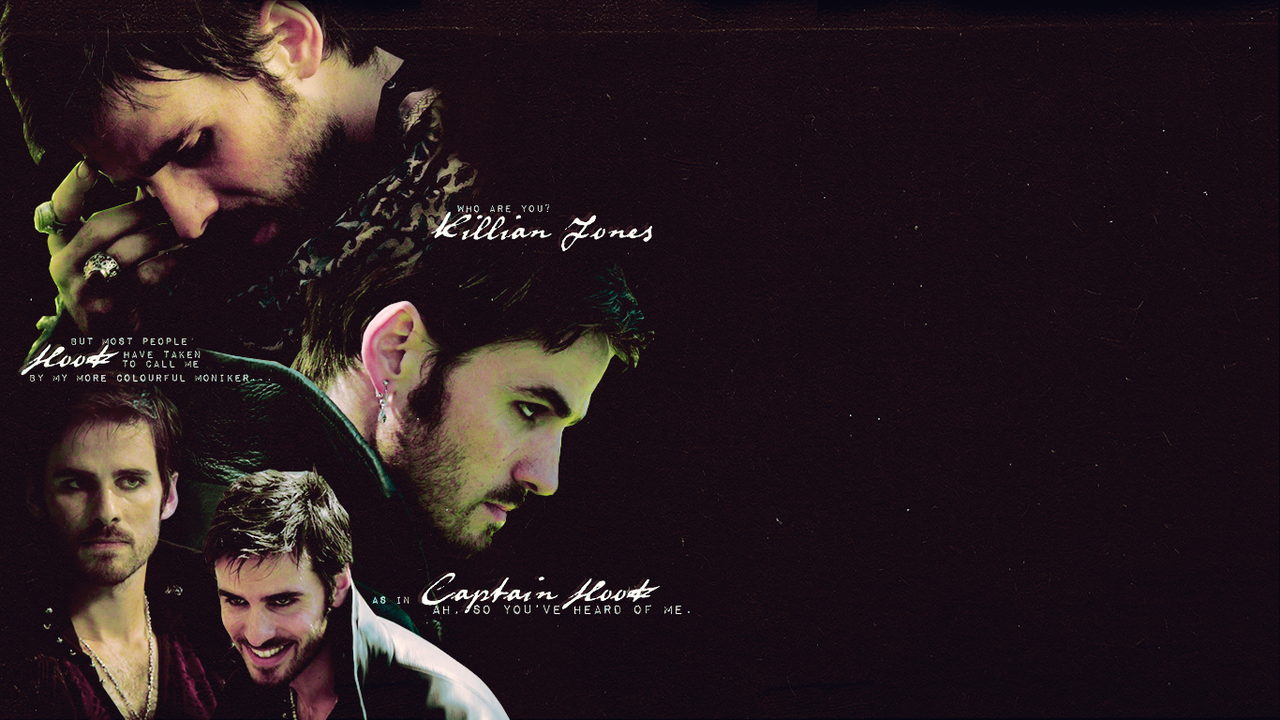 Captain Hook - ... Once Upon A Time Wallpaper Captain Swan