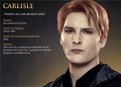 Carlisle Character 个人资料