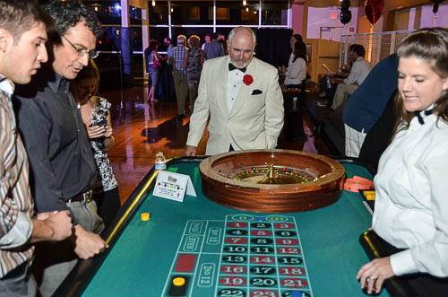 Casino night with 007