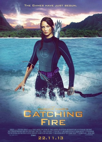 Catching feuer Hintergrund called Catching Fire: Katniss