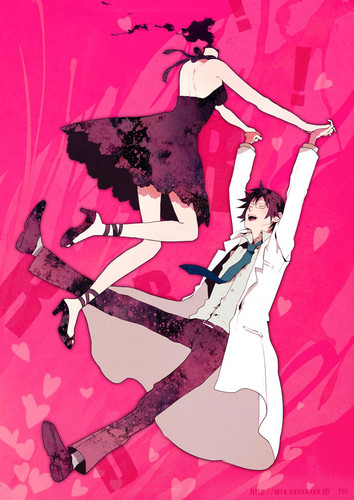 Celty and Shinra