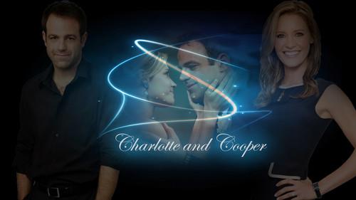 Charlotte & Cooper wallpaper