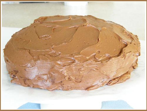 cokelat cranberi, cranberry delima Cake