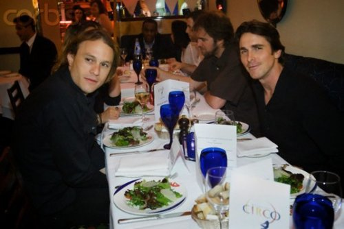 Christian with heath ledger