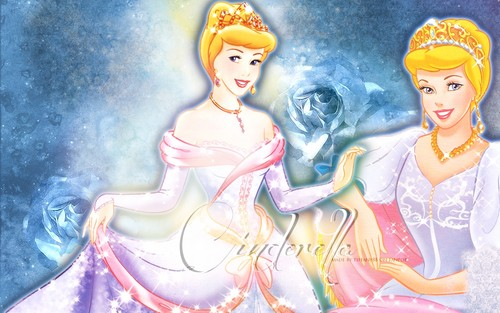 Cinderella wallpaper probably containing anime called Cinderella ~ ♥