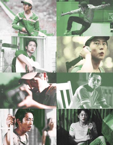 Color Meme / Glenn + Green and White