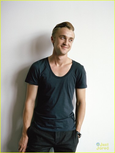 Tom Felton wallpaper with a jersey entitled Corduroy Magazine