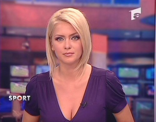 Cristina Dochianu romanian girls TV people