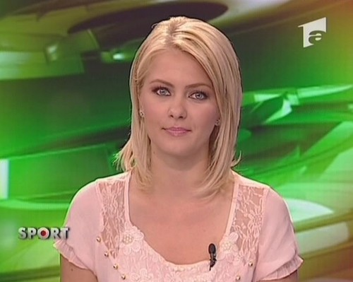 Cristina Dochianu romanians girls TV news women