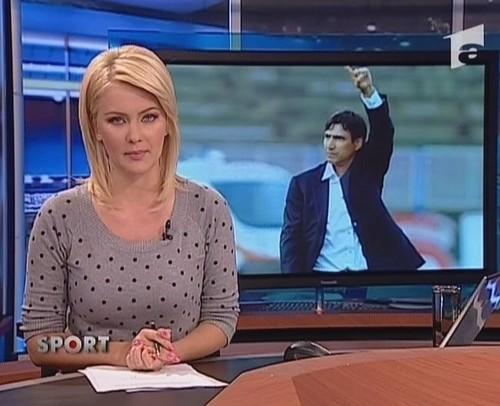 Cristina Dochianu romanians girls TV news women