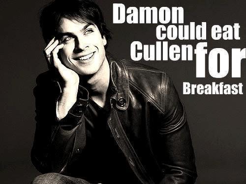 Damon vs. Cullen