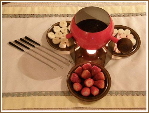 Dark cokelat Fondue Recipe