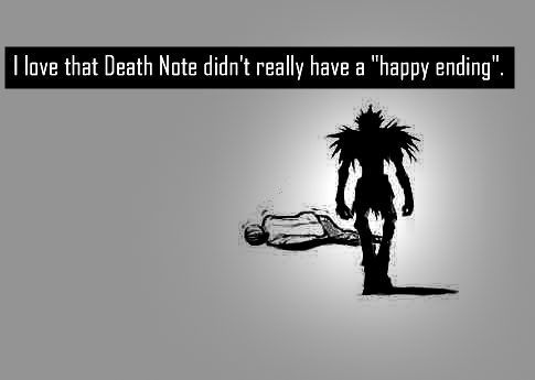 Death Note Confessions