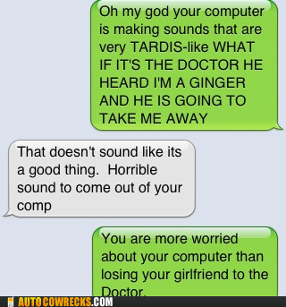 Doctor Who on Failbook