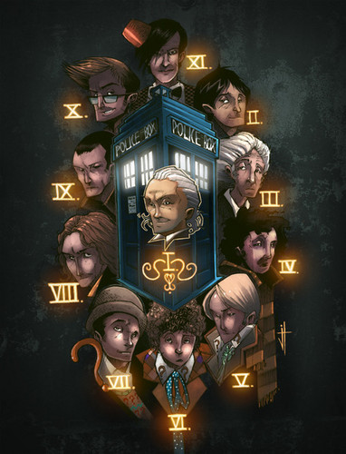 doctor who wallpaper entitled Doctors fanart