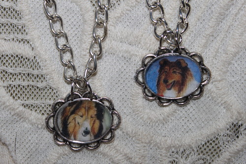 Collie necklaces for dog lovers