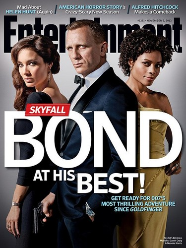 EW magazine- James Bond