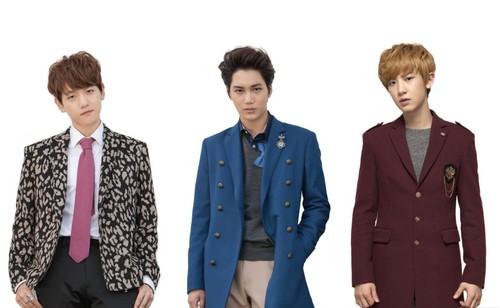 EXO-K Ivy Club photoshoot