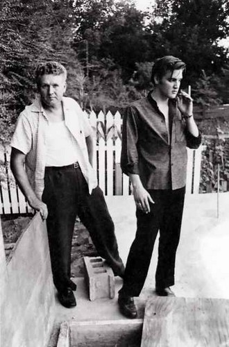 Elvis and dad