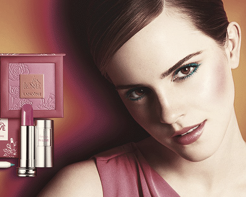Emma For Lacome's Make-UP