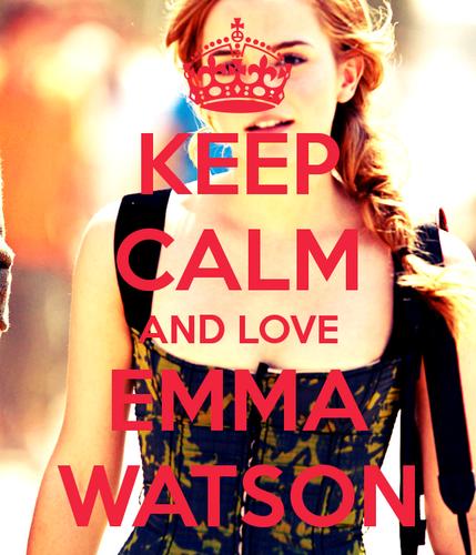 Emma Watson Keep Calm