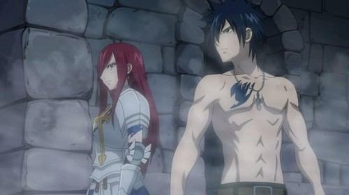 Erza and Gray
