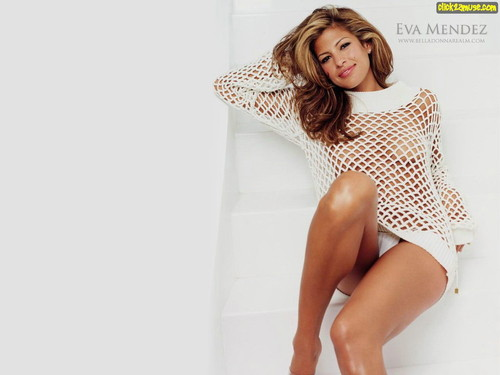 eva mendes wallpaper probably containing a leotard called Eva Mendes