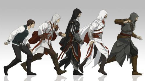 Evolution Of Ezio Auditore