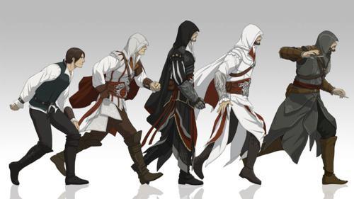 Evolution Of Ezio Auditore The Assassin S Fan Art