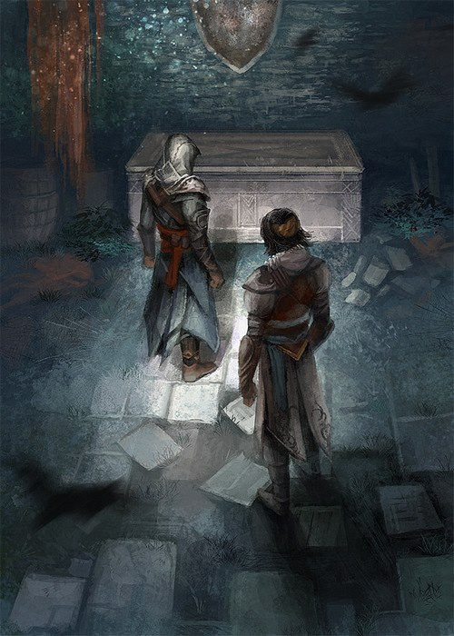 Ezio And Yusuf The Assassin S Fan Art 32600595 Fanpop